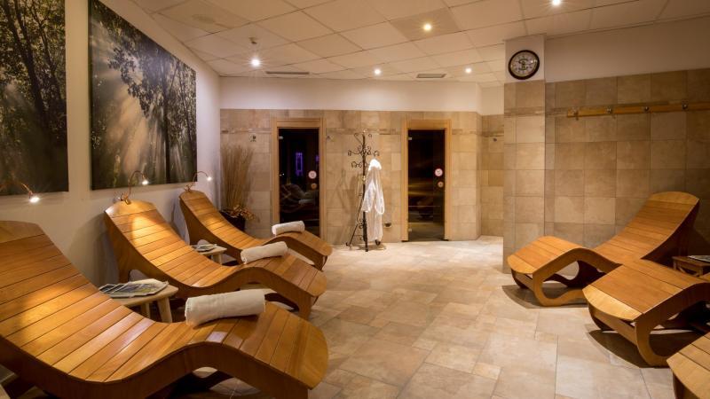 sauna chalet all'imperatore madonna di campiglio